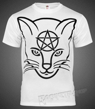 koszulka AMENOMEN - HEAD CAT (OMEN029KM WHITE)