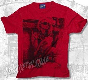 koszulka AMSTERDAM czerwona