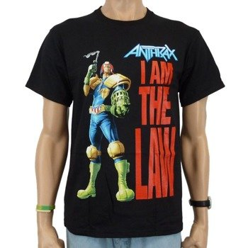 koszulka ANTHRAX - I AM THE LAW