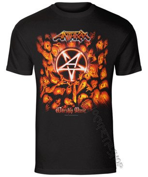 koszulka ANTHRAX - WORSHIP MUSIC ALBUM