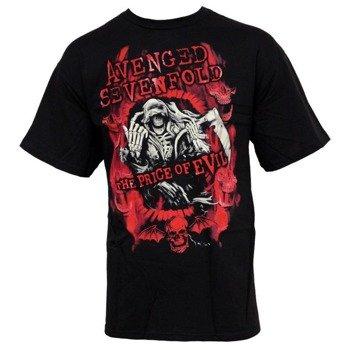 koszulka AVENGED SEVENFOLD - FLAME REAPER LIMITED TOUR 2011