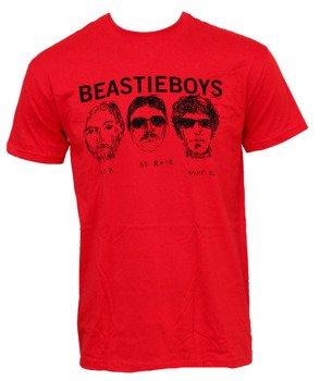 koszulka BEASTIE BOYS - RED FACES