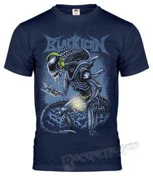 koszulka BLACK ICON - ALIEN (MICON132 STEEL BLUE)