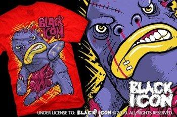 koszulka BLACK ICON - BIGMO (MICON096 RED)
