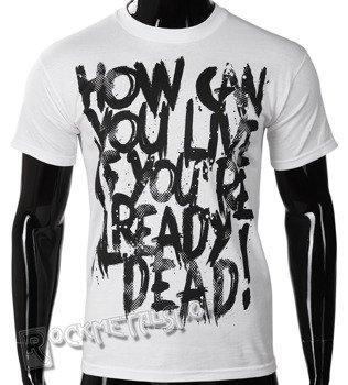 koszulka BLACK ICON - HOW CAN (MICON106 WHITE)