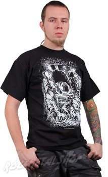 koszulka BLACK ICON - SKATE SKULL (MICON035 BLACK)
