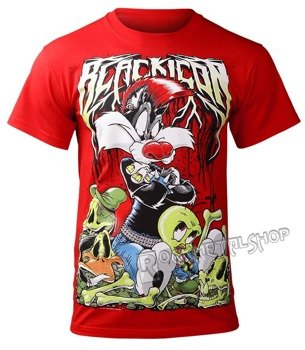 koszulka BLACK ICON - TWEETY (MICON124 RED)