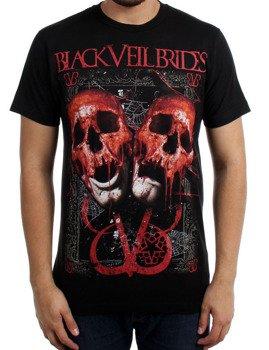 koszulka BLACK VEIL BRIDES - DOUBLE SKULL