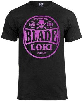 koszulka BLADE LOKI - TOXIC BAND purple