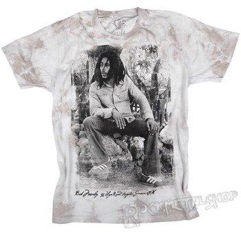 koszulka BOB MARLEY - KINGSTON 1978 barwiona