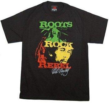koszulka BOB MARLEY - RRR STAG