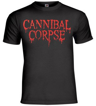 koszulka CANNIBAL CORPSE - NEW RED LOGO 2