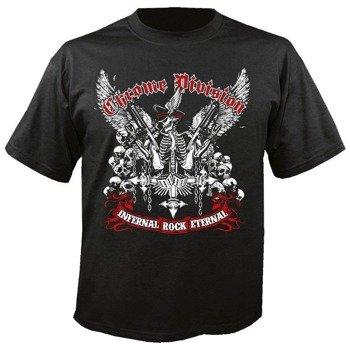 koszulka CHROME DIVISION - INFERNAL ROCK ETERNAL