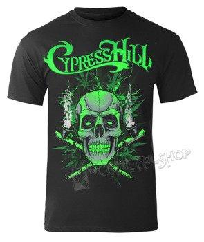 koszulka CYPRESS HILL - BLACK SKULL 'N PIPES