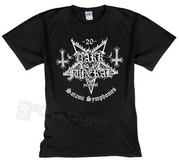 koszulka DARK FUNERAL - 20 YEARS OF SATANIC SYMPHONIES