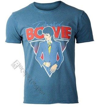 koszulka DAVID BOWIE - BOOTLEG COBALT BLUE