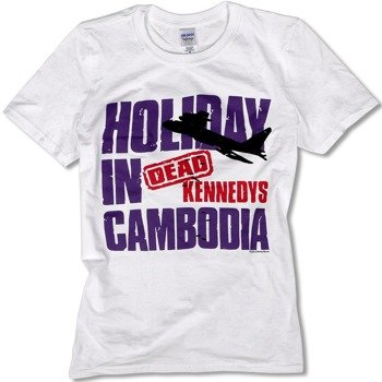 koszulka DEAD KENNEDYS - HOLIDAY IN CAMBODIA