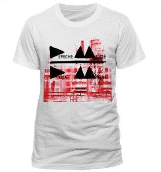 koszulka DEPECHE MODE - DELTA biała