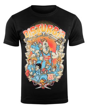 koszulka DISTURBIA - NEVER SAY DIE (BLACK)