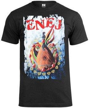 koszulka ENEJ - PAPARANOJA czarna