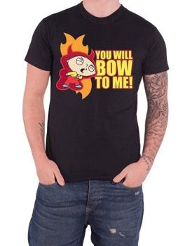 koszulka FAMILY GUY - STEWIE BOW TO ME