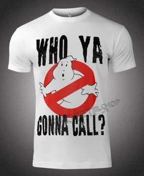 koszulka GHOSTBUSTERS - WHO YA GONNA CALL