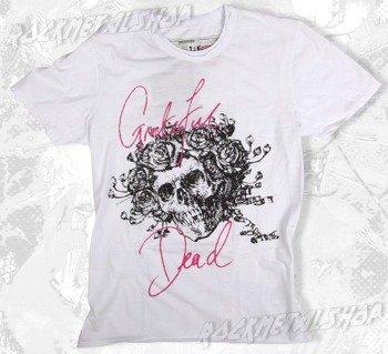 koszulka GRATEFUL DEAD - BOX OF RAIN biała