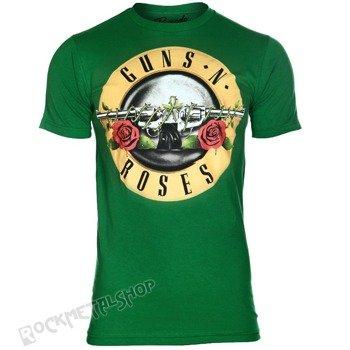 koszulka GUNS N' ROSES - LOGO GREEN