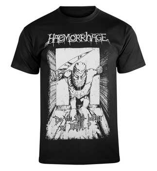 koszulka HAEMORRHAGE - DO YOU BELIEVE IN HELL?