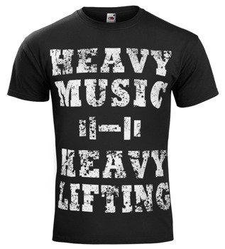 koszulka HEAVY MUSIC HEAVY LIFTING