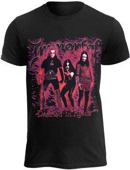 koszulka  IMMORTAL - DAMNED IN BLACK