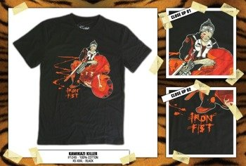 koszulka IRON FIST '09 (Kamikaze Killer) (Black)