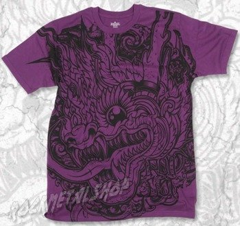 koszulka IRON FIST - MAI THAI (PURPLE)