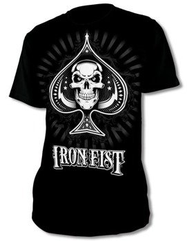 koszulka IRON FIST - NEW DEALER LOGO (BLACK)
