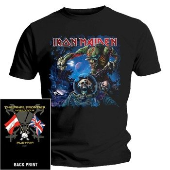 koszulka IRON MAIDEN - FINAL FRONTIER FLAG AUSTRIA