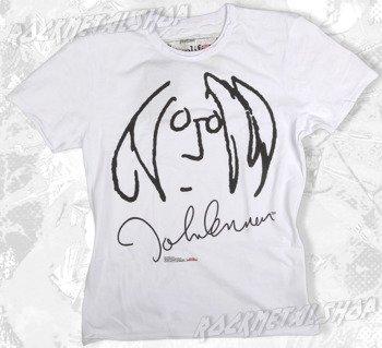 koszulka JOHN LENNON biała