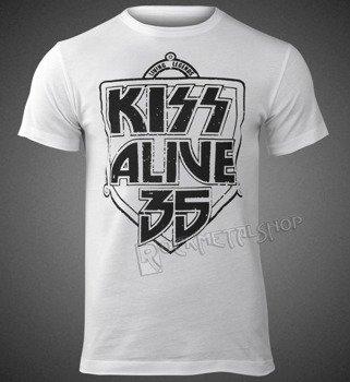 koszulka KISS - ALIVE 35 WHITE
