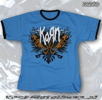 koszulka KORN błękitna