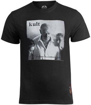koszulka KULT - KOCHAM CIE A MIŁOŚCIA SWOJĄ czarna
