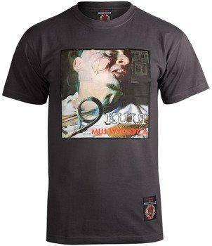 koszulka KULT - MUJ WYDAFCA grafitowa
