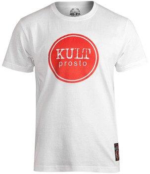 koszulka KULT - PROSTO biała