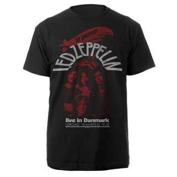 koszulka LED ZEPPELIN - LIVE IN DENMARK