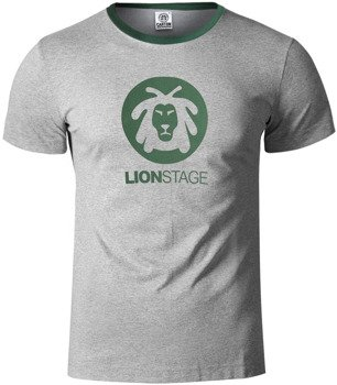 koszulka LION STAGE szary melanż