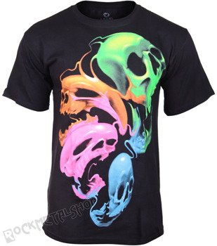 koszulka LIQUID NEON SKULLS