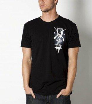 koszulka METAL MULISHA - ARMED SOCIETY-CSTM FIT czarna