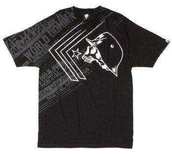 koszulka METAL MULISHA - BURST czarna