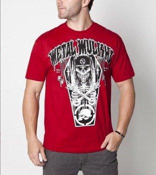 koszulka METAL MULISHA - COFFIN czerwona