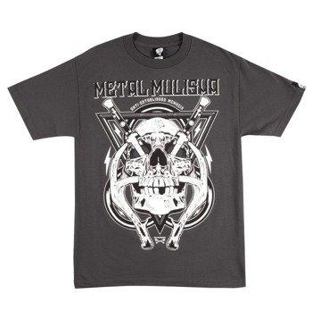 koszulka METAL MULISHA - HYDRO74-SWITCH szara