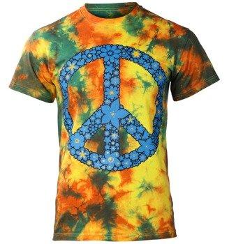 koszulka PACYFKA, POWER OF FLOWER barwiona