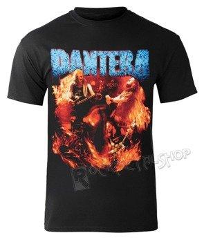 koszulka PANTERA - BAND FLAMES